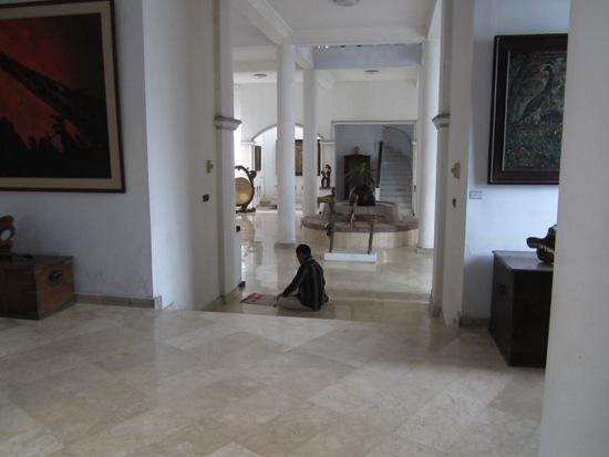Poles marmer di Museum