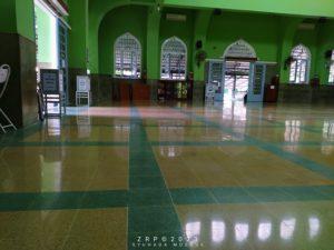 poles teraso masjid